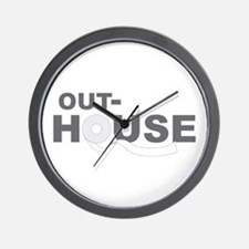 Out-House Wall Clock