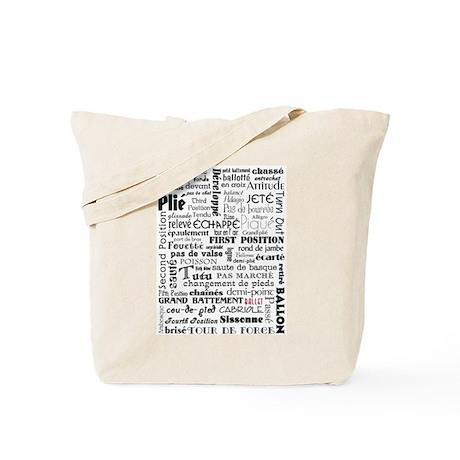 Ballet Collage Tote Bag