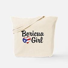Boricua Girl Tote Bag