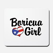 Boricua Girl Mousepad