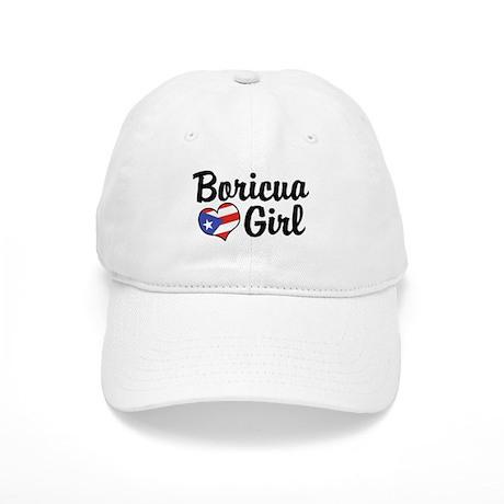 Boricua Girl Cap