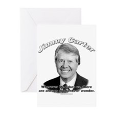 Jimmy Carter 02 Greeting Cards (Pk of 10)