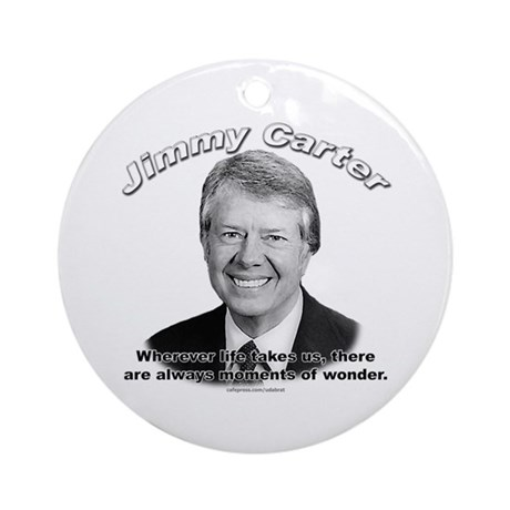 Jimmy Carter 02 Ornament (Round)
