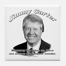 Jimmy Carter 02 Tile Coaster
