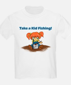 Take a Kid Fishing T-Shirt
