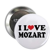 I Love Mozart Button