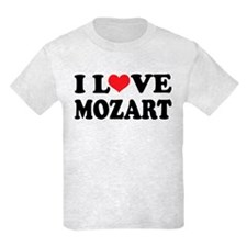 I Love Mozart T-Shirt