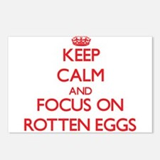 Funny Rotten egg Postcards (Package of 8)