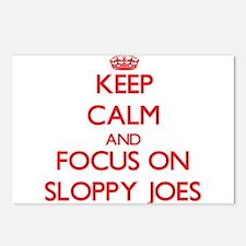 Cute Sloppy joe Postcards (Package of 8)