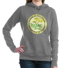 Pucker Up Buttercup Women's Hooded Sweatshirt