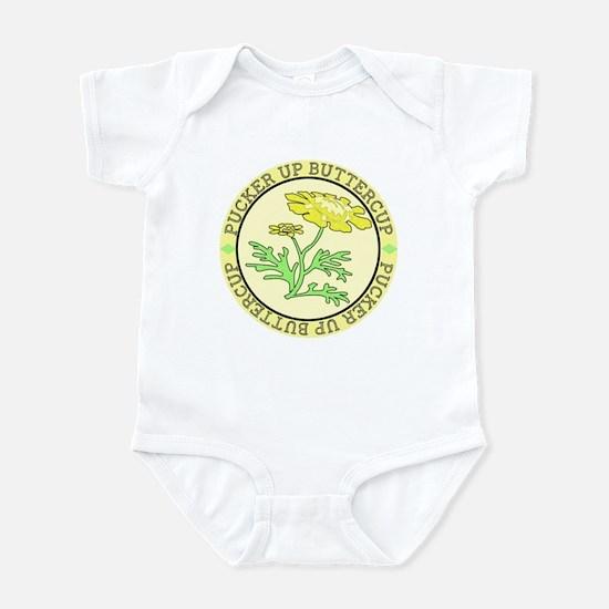 Pucker Up Buttercup Infant Bodysuit