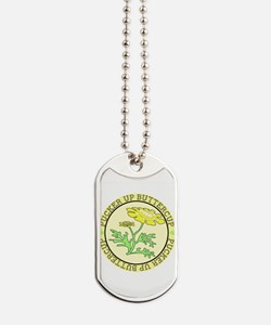 Pucker Up Buttercup Dog Tags