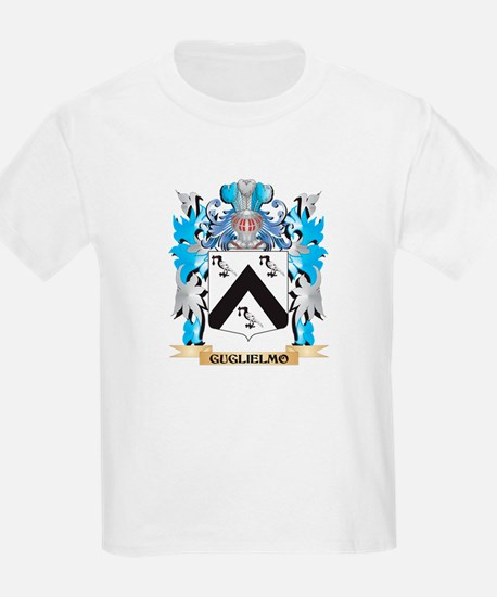 Guglielmo Coat of Arms - Family Crest T-Shirt