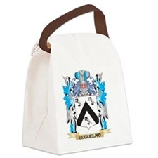 Cute Family crest Canvas Lunch Bag