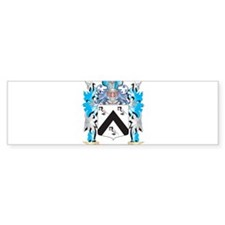 Guglielmo Coat of Arms - Family Crest Bumper Stick