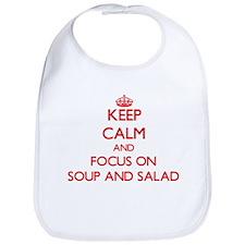 Funny Soups salads Bib