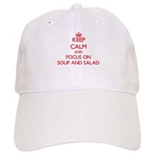 Cute Soups salads Baseball Cap