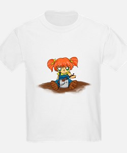 Fishing Girl anime T-Shirt