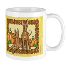 Autumn Pharaoh Hounds Mug