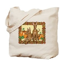 Autumn Pharaoh Hounds Tote Bag