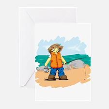 Kids Fishing Greeting Cards (Pk of 10)