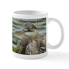 Blue Heron Portrait Mugs