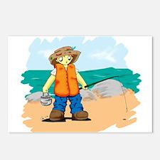 Kids Fishing Postcards (Package of 8)