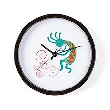 Dancing Flutist Wall Clock
