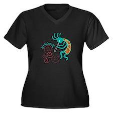 Kokopelli Plus Size T-Shirt