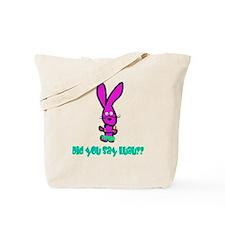 bunny luau Tote Bag
