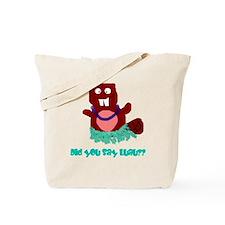 beaver luau Tote Bag