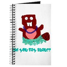 beaver luau Journal