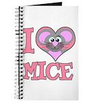 I Love (Heart) Mice Journal
