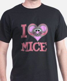I Love (Heart) Mice T-Shirt