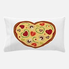 Pizza Heart Pillow Case