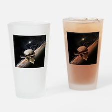 new horizons Drinking Glass