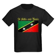 Saint Kitts and Nevis Flag T