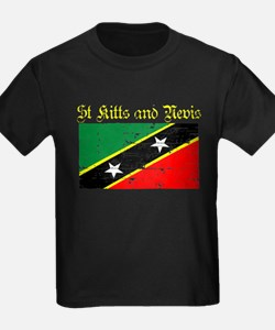 Saint Kitts and Nevis Flag T