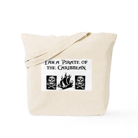 I am a Pirate of the Caribbea Tote Bag