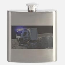 lunar rover Flask