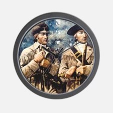 Cute Lewis and clark history Wall Clock