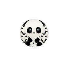 Cute Panda Bear Mini Button