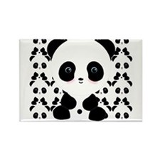 Cute Panda Bear Magnets