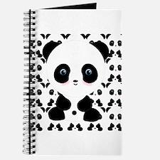Cute Panda Bear Journal