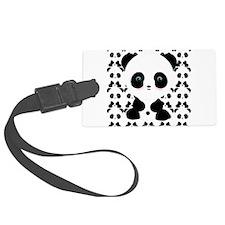 Cute Panda Bear Luggage Tag