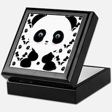 Cute Panda Bear Keepsake Box