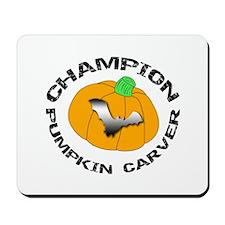 Pumpkin Carver Mousepad