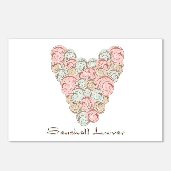 Seashell Lover Postcards (Package of 8)