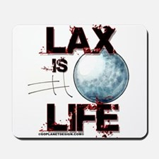 Lax Is Life Mousepad