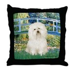 Bridge & Bolognese Throw Pillow
